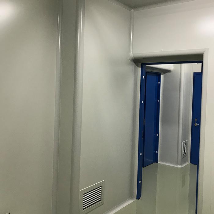 彩钢复合板安装
